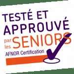 tablette pour senior certifié Afnor